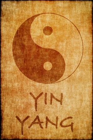 yin y yan: Cinese signo yin yang Foto de archivo