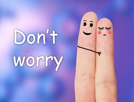 amistad: Dedos divertidos