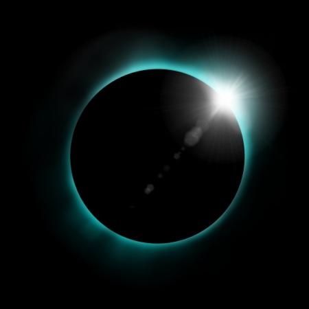 sun eclipse Stock Photo