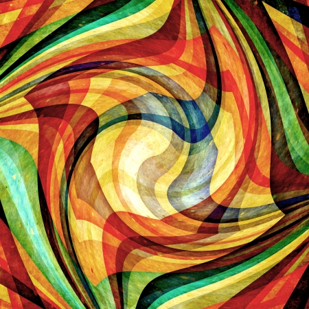 descriptive color: Abstract background Colour and shape mix  Stock Photo
