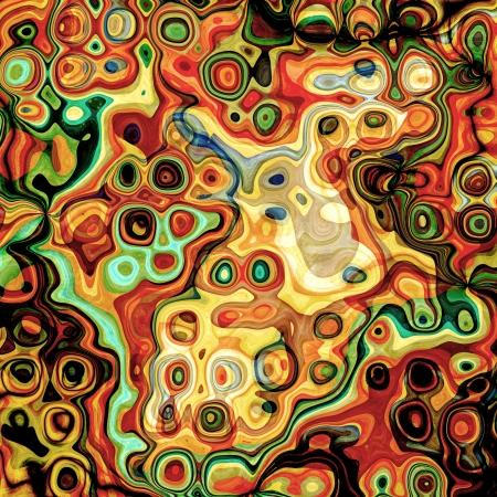 抽象的な背景の色と形状ミックス