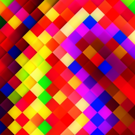 Abstract mosaic background. Colorful mosaic. Stock Photo - 16591777