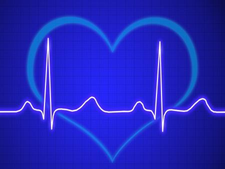 heart ecg trace: Electrocardiogram, ecg, graph, pulse tracing