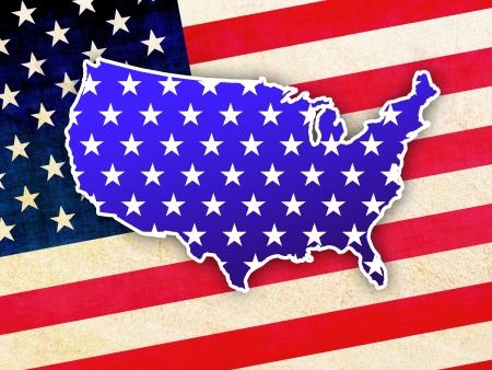electing: Patriotic USA background