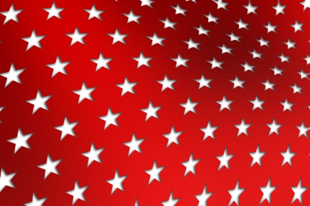 convention: Patriotic Star Background