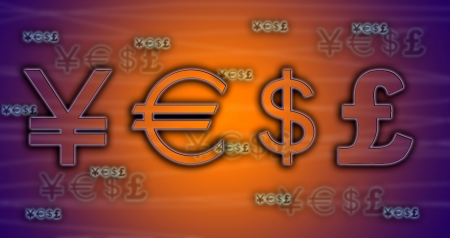 yen note: World currency exchange rates
