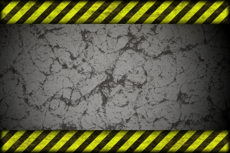 safety net: Hazard background  warning lines, black and yellow