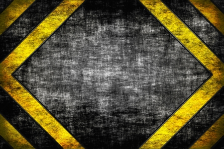 Hazard background  warning lines, black and yellow
