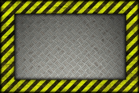 Hazard background. warning lines, black and yellow  Stock Photo - 20599796