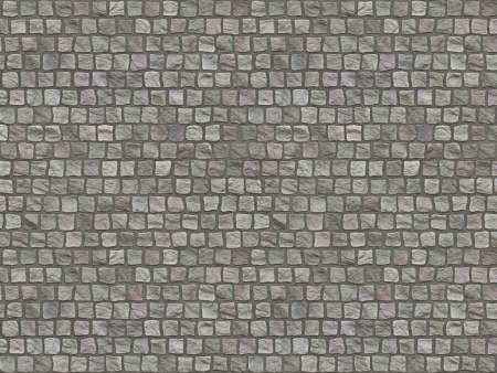 paving stone: Granite cobblestoned pavement background