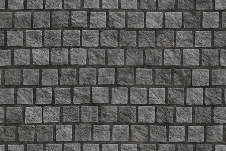 Graniet cobblestoned stoep achtergrond
