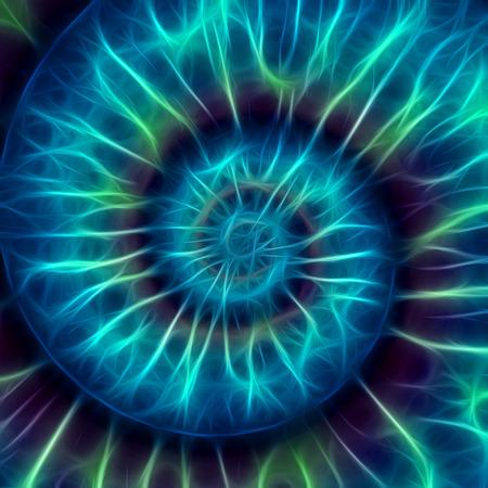 fibonacci: Abstract spiral pattern. fibonacci pattern