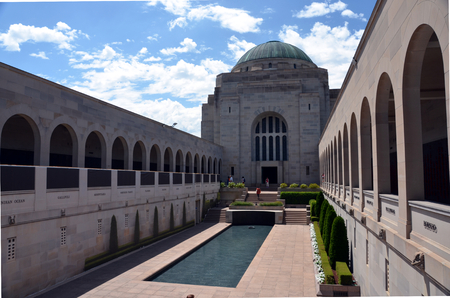 Canberra: CANBERRA, 20022016. Visiting the Australian War Memorial. The Australian War Memorial is Australias national memorial to the members of its armed forces and Supporting Organisations who have died or participated in wars involving the Commonwealth of Au
