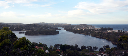 nsw: Narrabeen Lakes from Collaroy Plateau (Sydney, NSW, Australia)