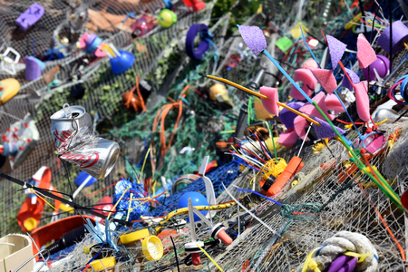 detritus: Sydney, Australia - Oct 23, 2016 Ian Swift: Detritus Parasitus. Sculpture by the Sea Bondi to Coogee along the coastal walk is The Worlds Largest free to the public sculpture Exhibitions.