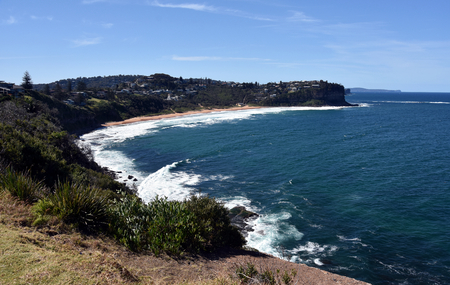 nsw: Bungan Beach is one of Sydneys Northern Beaches (Sydney, NSW, Australia)