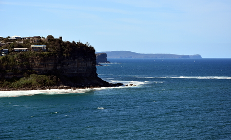 nsw: Northern Beaches coastline. View from Mona Vale (Sydney, NSW, Australia) Stock Photo