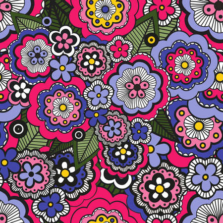 Cute pattern in small flower in very bright color. Small colorful flowers. Ditsy floral background. The elegant the template for fashion prints.