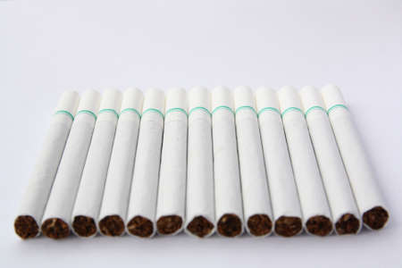 fag: cigarettes isolated  Stock Photo