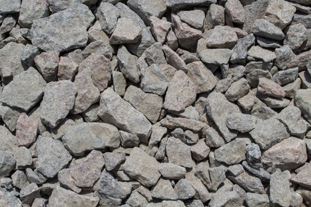 monotone: Crushed Stones Background. Monotone Surface Top View