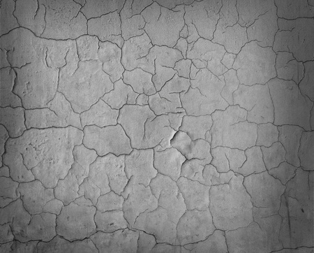 Pattern of cracked wall texture as background Stock Photo - 9064491