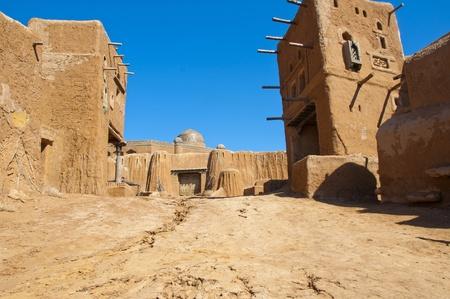 Sarai-Batu - reconstruction of capital city of Golden Horde Stock Photo - 13102512
