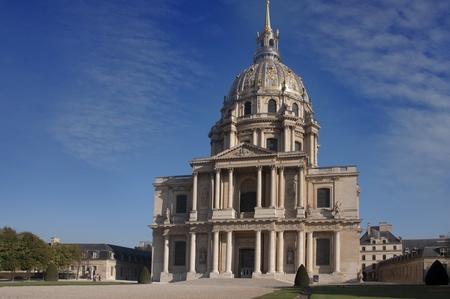 Les Invalides, Paris, France  Dome church, home of Napoleon photo