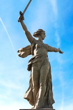 volgograd: World War II memorial,Motherland Calls&quot, Volgograd, Russia.