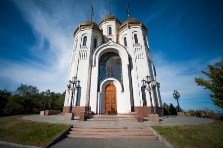 volgograd: All Saints Church in Russia, Volgograd about memorial Mamaev Kurgan