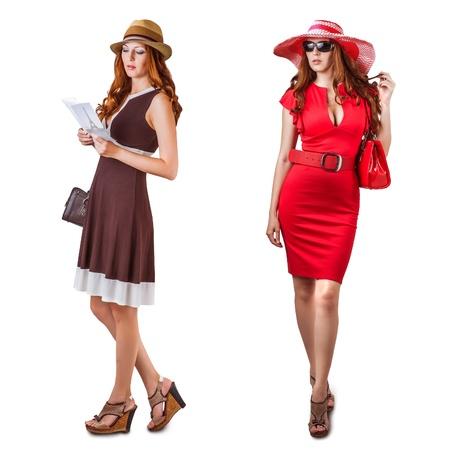 ヴォーグ ドレスや若者のファッションの女性のアクセサリー