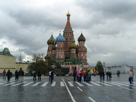 st basil s cathedral: St Basil s Cathedral Red Square Moscow
