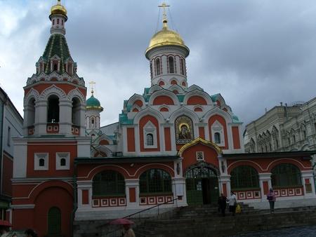 red square moscow: La Catedral de Kazan de la Plaza Roja de Mosc�
