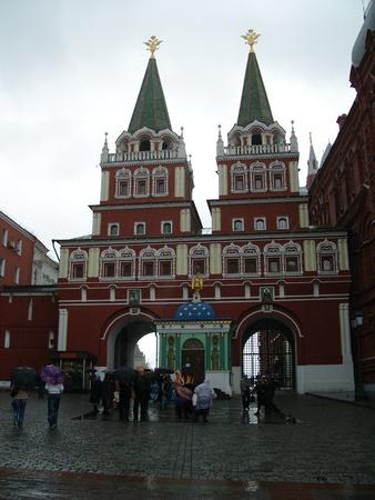 red square moscow: Puerta de la Resurrecci�n Iveron Capilla de la Plaza Roja de Mosc�