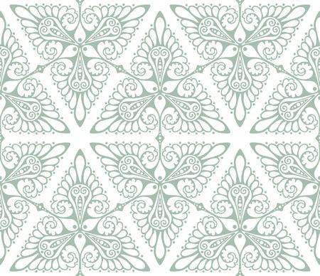 アール ヌーボー風の背景パターン。シームレスなベクトル イラスト。  イラスト・ベクター素材
