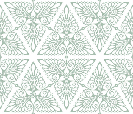 Art Nouveau inspiré motif de fond. Seamless vector illustration. Banque d'images - 39794517