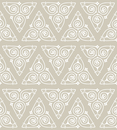Seamless vector background pattern with triangle motifs Stock Photo