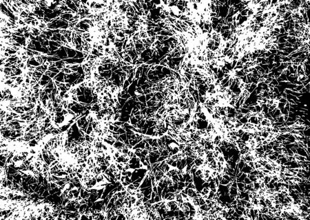 Grunge texture vector. Grunge rough dirty background. Uneven overlay. Black wavy marble texture on white background. Vector Illustration