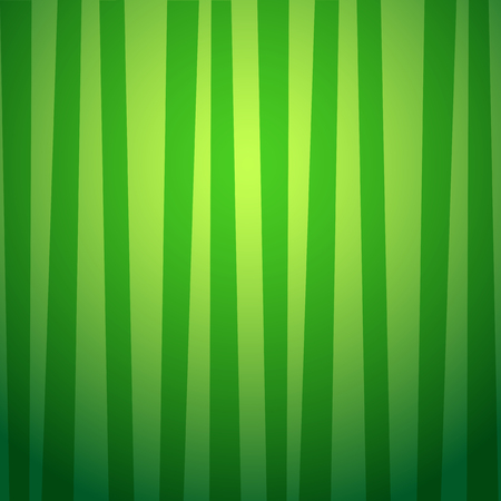 Cute wallpaper with vertical green and yellow striped pattern. Vector background, poster, banner, template, fabric or wrapping paper print.