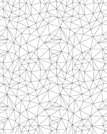 Seamless polygonal pattern background, creative design templates Ilustrace