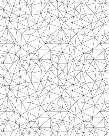 Polygonal seamless pattern background, creative design templates.