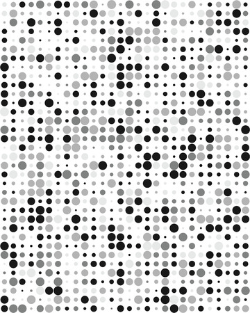 Pattern with grey dots, Seamless vector background