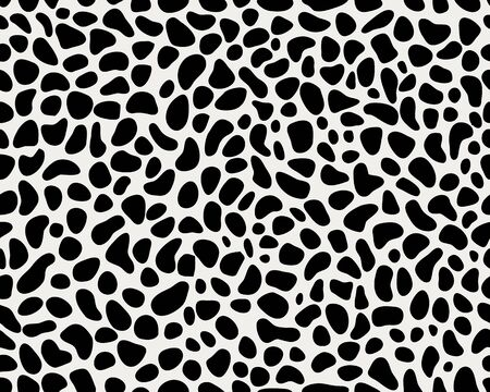 Seamless leopard repeat pattern, creative design templates