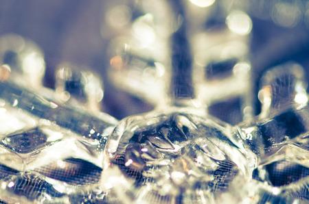 vitreous: beautiful vitreous snowflake detail image