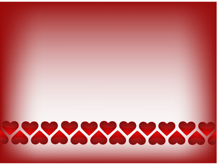 adorning: red heart background vector illustration