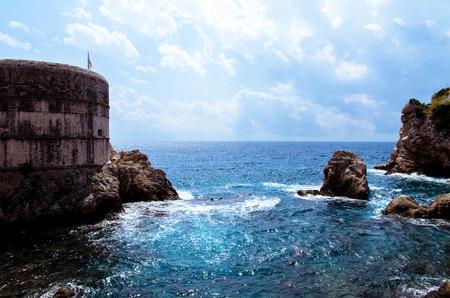 firmeza: fortaleza antigua imagen de la ciudad de Dubrovnik en