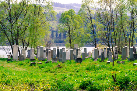 israelite: old jewish cementery close the river