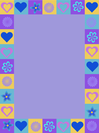 irregular: irregular abstract colorful background illustration