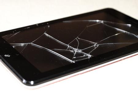 broken tablet