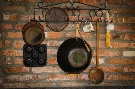 fryingpan: still-life of frying-pan Stock Photo