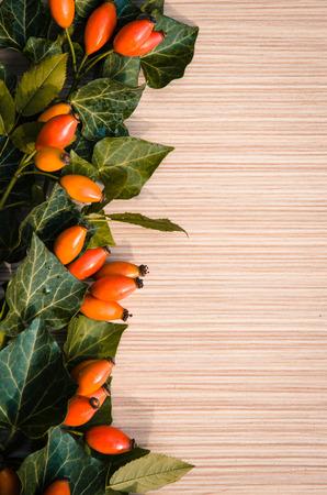 briar: orange briar fruits background image